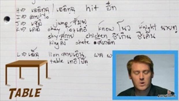 เรียนภาษาอังกฤษออนไลน์กับอาจารย์อดัม
