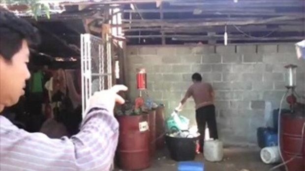 รปภ.หนุ่มจับงูจงอาง 4 เมตร มือเปล่า บอกฝึกมาตั้งแต่เด็ก