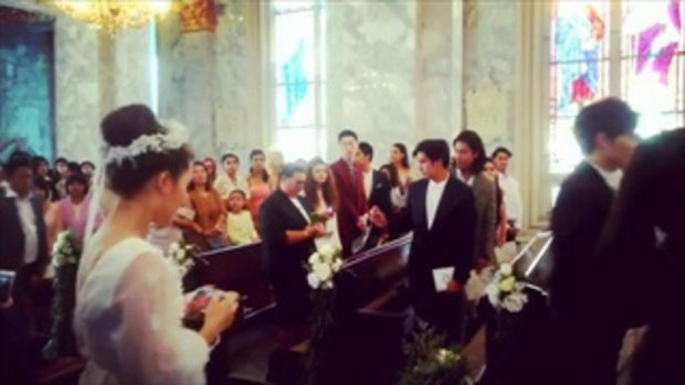 งานแต่ง กุ๊บกิ๊บ สุมณทิพย์ และ บี้ KPN