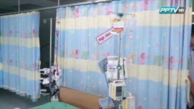ครอบครัวดีใจ 'น้องดีเจ' ฟื้นแล้ว แพทย์เฝ้าใกล้ชิด 12 กุมภาพันธ์ 2559