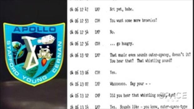 NASA เผยเทปเก่า 40 ปี คลิปเสียงเพลงลึกลับจากดวงจันทร์ ในภารกิจอพอลโล 10