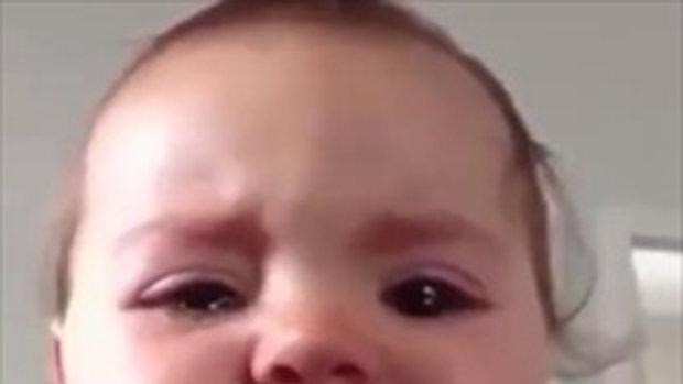 โอ๊ย ร้องไห้ยังน่ารักขนาดนี้ ใครจะตีลงลูก !!!!