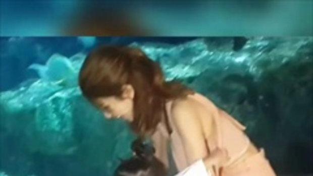 จะเป็นยังไง เมื่อน้องมะลิเห็นปลาฉลามของจริงเป็นครั้งแรก !!!