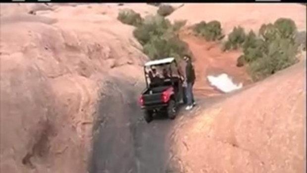 รถไต่ถัง หรือรถวิ่งออกจากหลุม