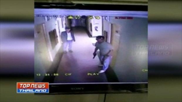 """สุดระทึก..! โจ๋ """"แก๊งป่าพร้าวโว้ย"""" เอเยนต์ค้ายา กระโจนพุ่งหลาวจากตึกชั้น 5 หนีตำรวจ"""