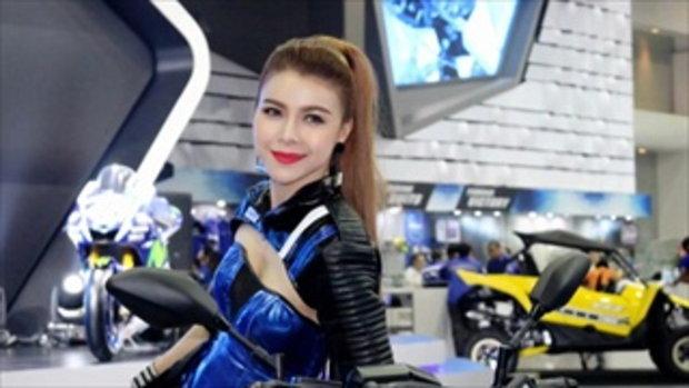 มอเตอร์โชว์ 2016 (Bangkok Motor Show 2016) กับพริตตี้สาว สวย เซ็กซี่ YAMAHA