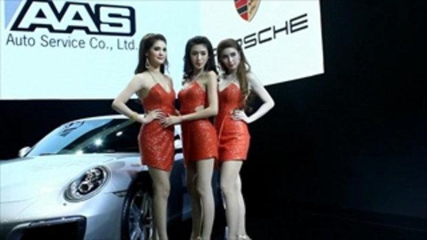 มอเตอร์โชว์ 2016 (Bangkok Motor Show 2016) กับพริตตี้สาวสวยรถ Porshe