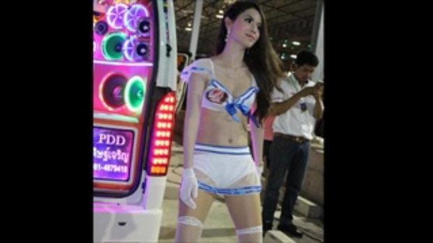 มอเตอร์โชว์ 2016 (Bangkok Motor Show 2016) กับสาวๆ MA audio Coyoty