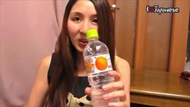 รีวิวเครื่องดื่มญี่ปุ่น EP1  น้ำเปล่ารสส้ม