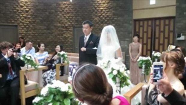 แต่งงานในญี่ปุ่น (แบบฝรั่ง) ที่Megurogajoen 目黒雅叙園, Tokyo (Wedding in Japan)