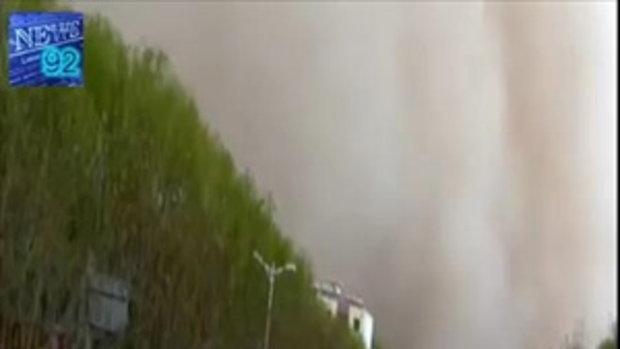 พายุทรายกระหน่ำปักกิ่งรุนแรงสุดในรอบ 13 ปี