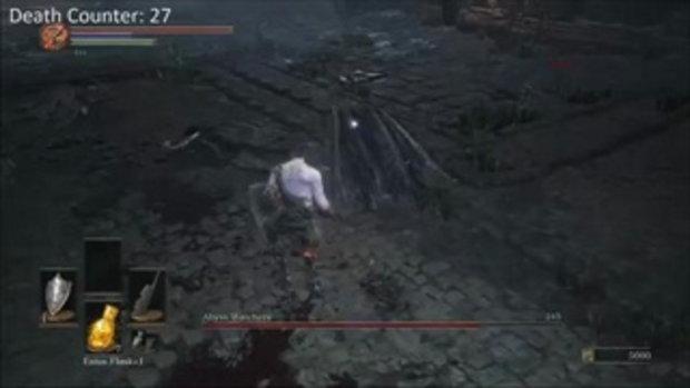 หัวเห็ดพิฆาต - Abyss Watchers Boss Fight