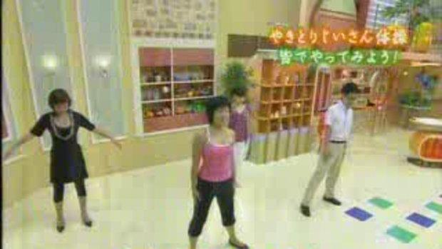 ออกกำลังกาย เต้นแอโรบิค ท่าบริหารสุดฮา