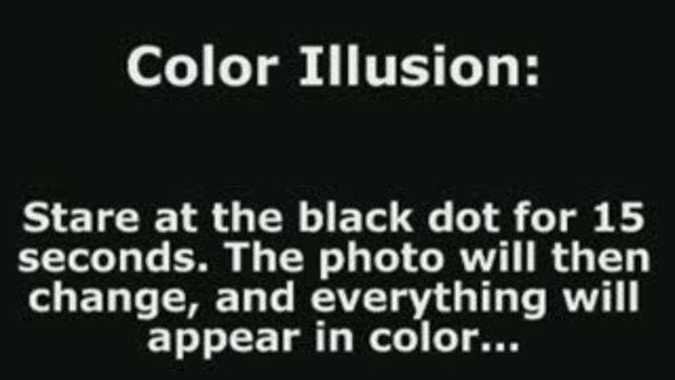 ภาพสี ภาพลวงตา ชวนสงสัย