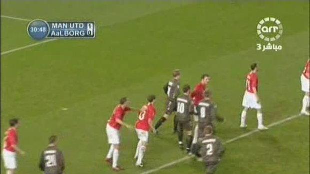 Manchester United - AaB Aalborg (2-2) The UEFA Cha