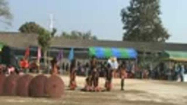 โรงเรียนวัดนันทาราม กีฬาสีสัมพันธ์ชุมชนครั้งที่ 4