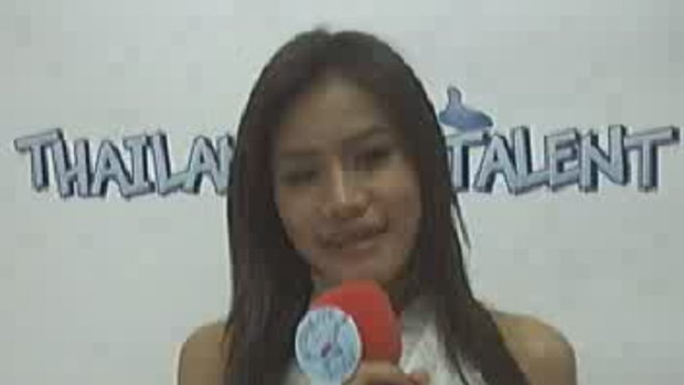 Thailand Talent : น้องแอ๊ปเปิ้ล แนะนำตัว