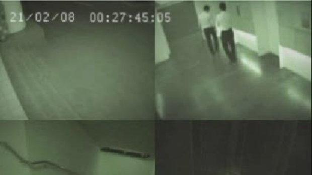 คลิปผีในลิฟท์ จากรายการคลับ7