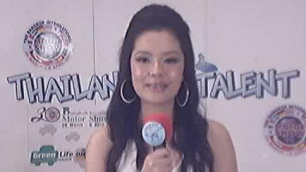 thailand talent : น้องจ๊ะจ๋า โชว์ร้องเพลง
