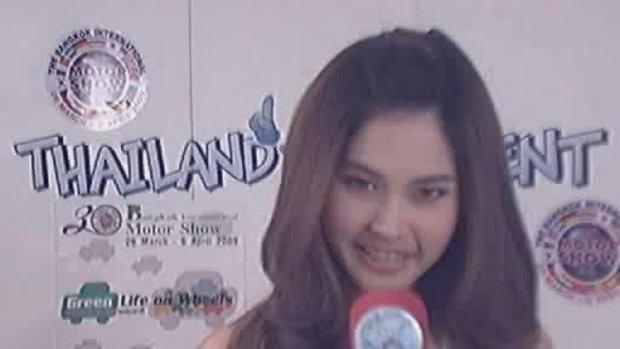 thailand talent : น้องกระต่ายโชว์โพสท่า