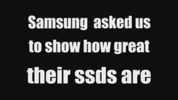 Samsung SSD Awesomeness