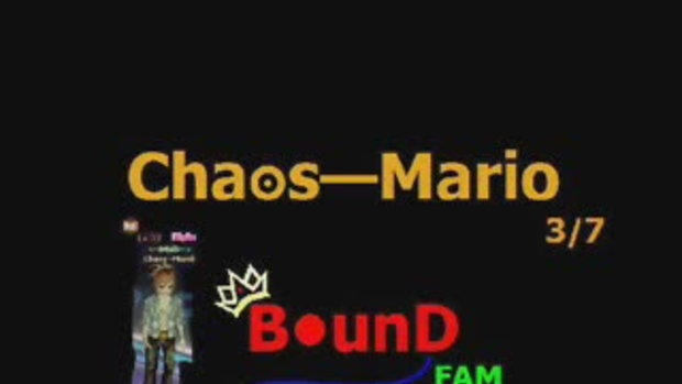 เปิดตัว Chaos—Mario
