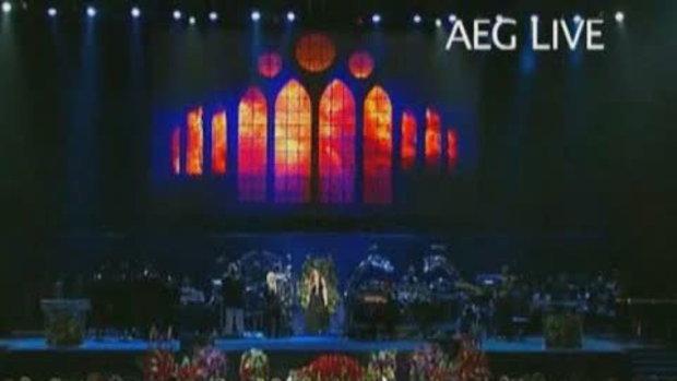 Mariah Carey ร้องเพลง I'll be there Concert Michae