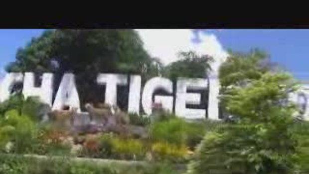 ตะลุยสวนเสือศรีราชา เฟลม หนีเสือปะจระเข้