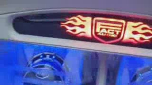 เครื่องเสียง รถยนต์ Honda Civic สวย ขั้นเทพ โดย Be