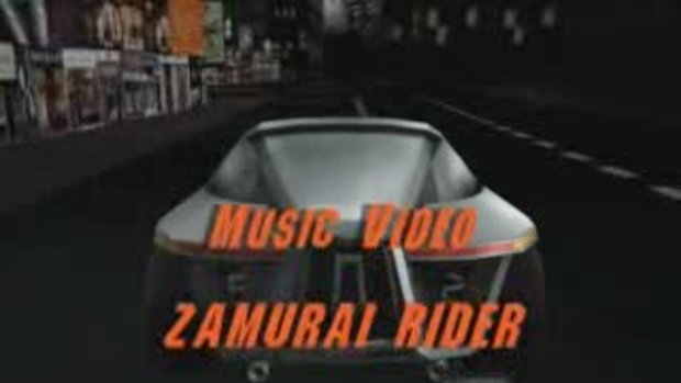 มิวสิกวิดีโอ Zamurai rider