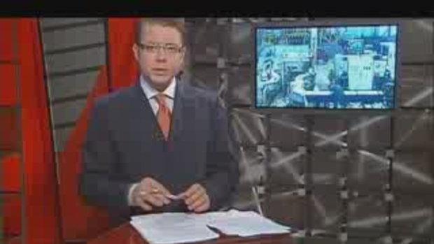 คลิปหนุ่มโรงงานโดนเครื่องจักรระเบิดใส่หน้า