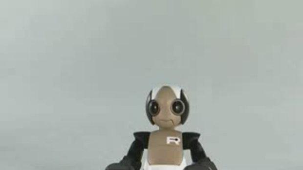 สุดยอดหุ่นยนต์กระโดดได้โดยไม่ล้ม