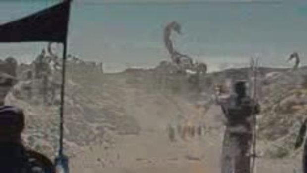 คลิปตัวอย่างแรกของภาพยนตร์ CLASH OF THE TITANS