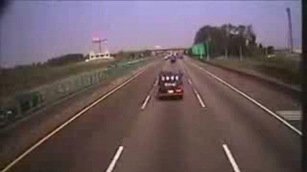 อุบัติเหตุบนท้องถนนที่จีน