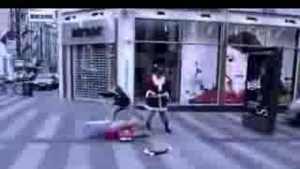 โดนซานต้าครอส แตะ