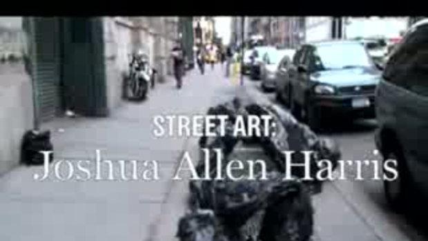 Street Art ศิลปะจากเศษถุง บอลลูนถุงขยะ