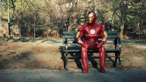 iron man เต้นโชว์