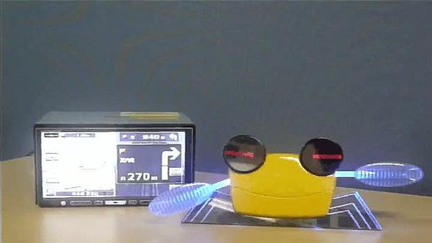 NaviRobo เนวิเกเตอร์ หุ่นยนต์ปูน้อย