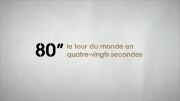 เดินทางรอบโลก ภายใน 80 วินาที