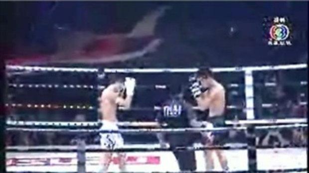 มวย Thai Fight เพชรมั่นคง Vs เชา ฮองชาง