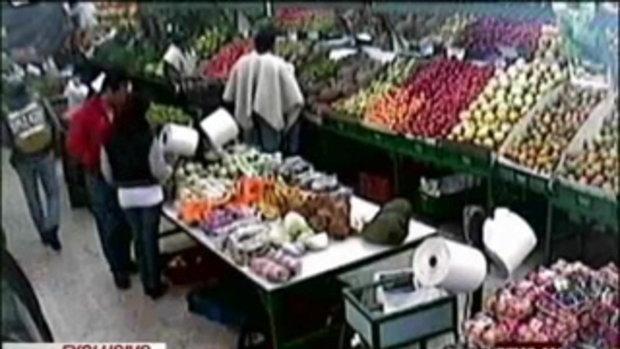 ระทึก ยิงดับคาร้านขายผัก