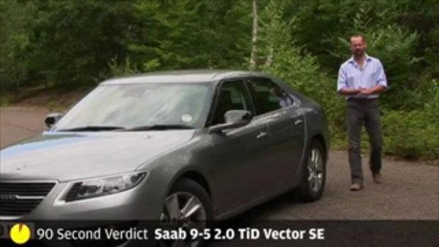 Saab 9-5 - 90sec review