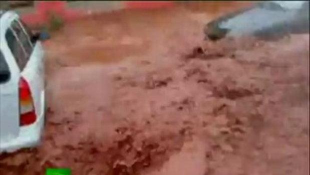 น้ำท่วม โคลนถล่มที่ฮังการี