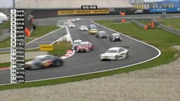 Alex Premat's Huge DTM Crash at Adria 2010 (HD)