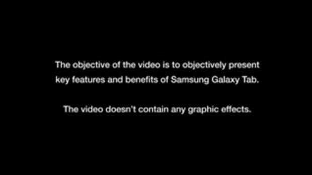 Galaxy Tab สุดไฮเทค!