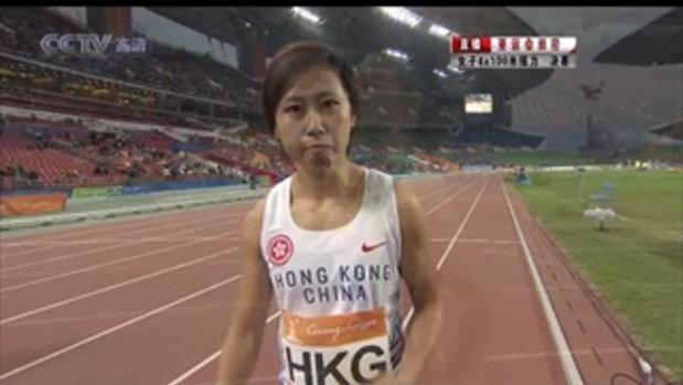 Asian Game 2010 คลิปวิ่งผลัด 4x100 m หญิง คว้าทองก
