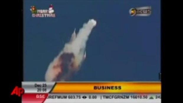 จรวดอินเดียระเบิด ขณะปล่อยขึ้นสู่อวกาศ