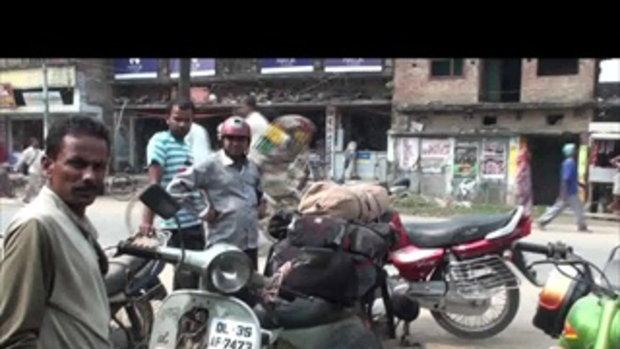 เจโอ๋เวสป้าผจญภัย-ซ่อมแตรที่เมืองคาซิปู้(อินเดีย)