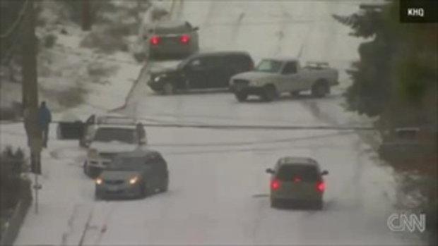 ถนนหิมะ ในรัฐวอชิงตัน ดี.ซี