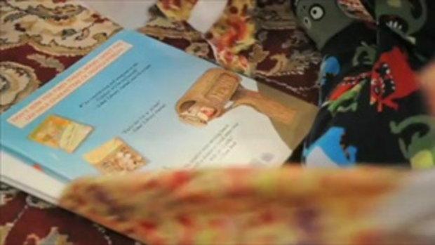 หนูน้อย โมโห ได้หนังสือ เป็นของขวัญวันคริสต์มาส